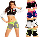 SHORT COURT COTON FEMME TOP SEXY SPORT DÉTENTE YOGA FITNESS T.S M L XL XXL