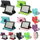 "360 Degree/Folio PU Leather Stand Case Cover For BN Nook HD 7"" Tablet"
