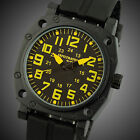 Aviator U.S Infantry 24HRS Black Rubber Mens Sports Army Wrist Watch Waterproof
