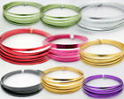5mm X 1mm X 5m ~  Aluminium Wire, (FLAT) Craft, Florist, Jewellery Making. Wire