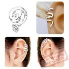 1 PC Fashion Snakelike Ear Clip No Ear Hole Antique Silver / Bronze Earrings