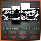 ' Heat Al Pacino & Robert De Niro ' Movie Wall Art Canvas Box ~ 4 Panels