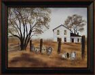 OLD CROCKS by Billy Jacobs FRAMED ART PRINT 15x19 Farm House Crock PICTURE