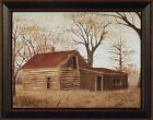 THE OLD LOG HOME by Billy Jacobs FRAMED ART PRINT 15x19 Country House PICTURE