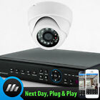 Sony CCD Dome Camera 4 Channel Digital Video Recorder Full CCTV Security System