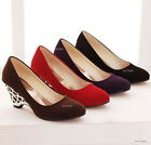 New Fashion Style Women's Wedge Heel Pumps Fashion Shoes US All Size Z007