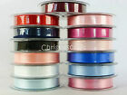 Berisfords Double Faced Satin Ribbon - Full Reels - Choice of Widths and Colours