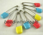 New 20pc Baby Dress Nappy Diaper Shower Safety Pins Safe Hold Locking Pin Brooch