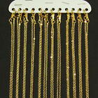 """12 x Gold Plated Fine Metal Necklace Chains 16"""" or 18"""""""