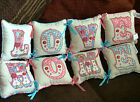 Circus 4 Tied Cushions Brand New - Choose From Two Designs - Home and Love