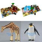 NEW JAPAN TOMY ANIMALS PLAY SET SAFAFI PARK/ PLAY SET ZOO WITH 1PC ANIMAL