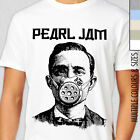PEARL JAM GASK MASK T-SHIRT. Grunge Alternative Rock, Eddie Vedder, Rare Album