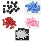 500 PCs Resin Sewing Buttons Scrapbooking Round 2 Holes M1064