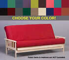 Premium Futon Cover - Your choice of size and color