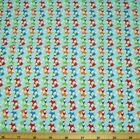 Mini Tossed Foxes 100% Cotton Fabric