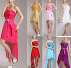 1 Lady Formal Gown Ball Evening Wedding Bridesmaid Cocktail Party Prom Dress
