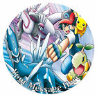 Pokemon Personalised Edible Rice/Icing Cake Topper 7.5 inch Circle