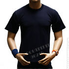 Men HEAVY WEIGHT T-Shirt Plain Crew Neck Hipster Sports GYM Fitness Big & Tall