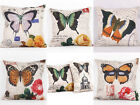 New 8Styles Butterfly Printed Throw Pillow Case Waist Pillow Case Cushion Cover