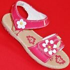 NEW Girl's Toddler's KK DAISEY Pink Flower Strappy Fashion Sandals Dress Shoes