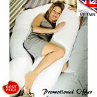 New 12 Ft / Foot Maternity Pregnancy COMFORT U/ V Pillow and/ or Case