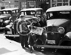 1936 NEWSBOYS ON CAR JACKSON OHIO PHOTO Largest Sizes