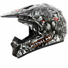 Oneal ROCKHARD 2 Hustler MX ATV Limited Edition Off Road Motocross Racing Helmet