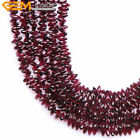 "Natural Red Garnet Beads Jewelry Making Gemstone Strand 15"" Shapes / Size Pick"