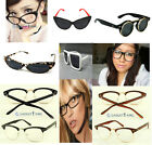 Vintage Classic Cat Eye Design Glasses Fashion SUNGLASSES RETRO GEEK Eyeglasses