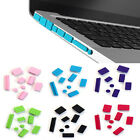 9pcs Silicone Anti Dust Plug Ports Cover Set For Laptop Macbook Pro 13 15 New