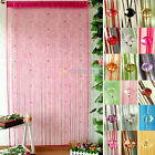 Acrylic Beaded String Curtain Fly Insect Door Screen Divider Window Blind Drape