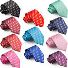 Kyпить DQT Woven Polka Dot Formal Business Mens Classic Tie Necktie + FREE Matching Bow на еВаy.соm