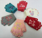 GL108 - Girls Magic Gloves - Grip (Heart or Bow) - Various Colours