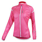 Women's Outdoor Sports Cycling UV Protection Wind Coat Jacket 3 Size XS~M