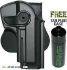 P1270 Polymer Retention Roto Holster for Jericho/Baby-Eagle Metal Models 9mm/.40