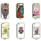 New Colorful Cute Owl Hybrid Hard Back Case Cover Skin For iPhone 5 5G 5S