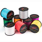 1000M Amy/Moss Green 6-250LB 13 Colors Top PE Dyneema Braided Sea Fishing Line