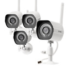 Funlux® 4CH NVR 720P HD Network Outdoor PoE CCTV Home Security Camera System