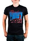 Rush Black Hemispheres Album Cover T-shirt Front and Back Graphics SIZE SMALL