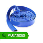 New BLUE LAYFLAT WATER DISCHARGE HOSE PIPE **MULTI LISTING*