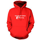 Weapon Of Choice Guitar - Unisex Hoodie / Hooded Top - Musician - Music