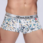 2013 Simple Muscle Men's Block Print Underwear Boxer briefs Bulge Enhance Shorts
