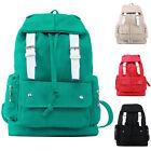 RETRO WOMENS HANDBAG CANVAS VINTAGE BACKPACK SHOULDER BAG MENS RUCKSACK SATCHEL