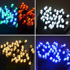 100 LED Twinkling Lights Connectable Waterproof Outdoor Christmas Fairy Mains