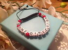 Band bracelets/ one direction/union j/the wanted/ shamballa fastening/tibetan