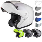 Shox Bullet Full Face Motorbike Motorcycle Bike Scooter Helmet With Tinted Visor