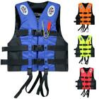 Life Jacket Vest Adult PFD 4 colors Fully Enclosed Size L XL XXL