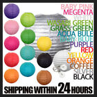 12 x Round Paper Lanterns Wedding Party Home Chinese Colorful Decoration Lamps