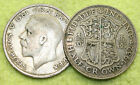 1920 TO 1936 GEORGE V SILVER HALF CROWNS CHOICE OF YEAR / DATE
