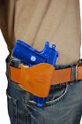 NEW BarsonyTan Leather OWB Yaqui Holster Ruger, Kimber Small 380 UltraComp 9 40